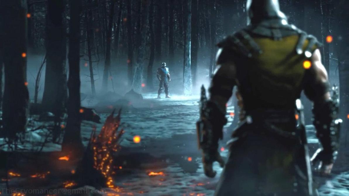 Mortal Kombat X   Scorpion vs Sub Zero by minol 1193x670