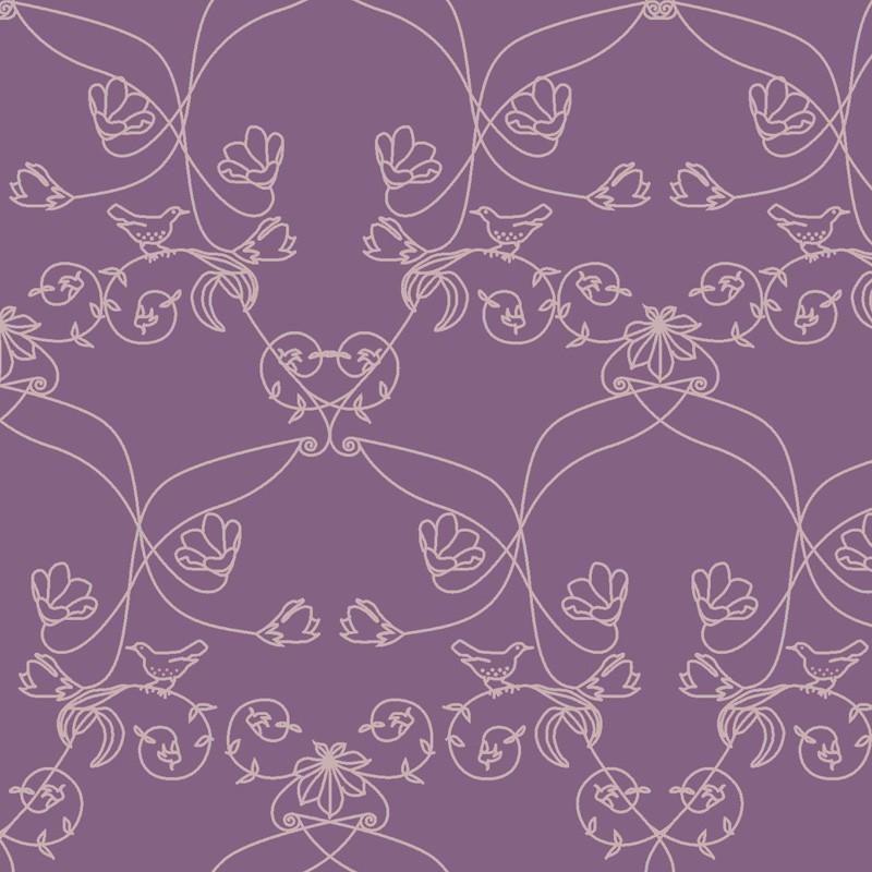 Pajaros Wallpaper Purple Wallpaper Buy Wallpaper Direct Online 800x800