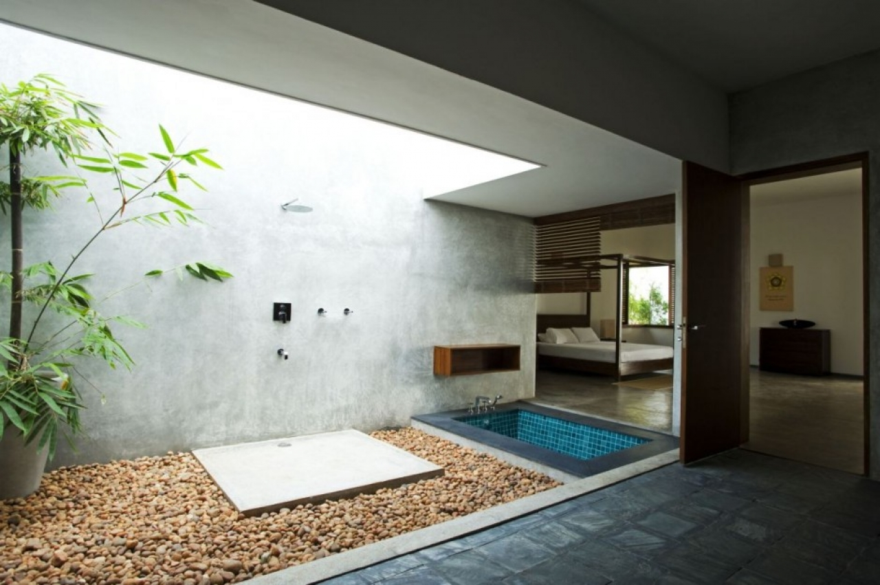 Spa cliff bathtub design outdoor bathroom my best wallpaper 1280x851