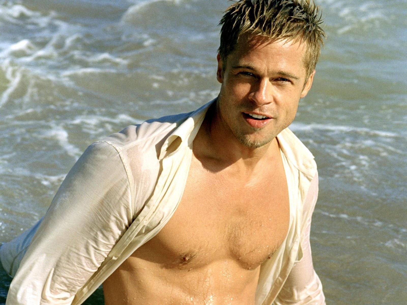 pitt   Brad Pitt Wallpaper 10613845 1600x1200