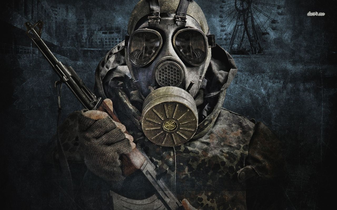 Skull Soldier Wallpaper Hd: Epic Gas Mask Wallpapers