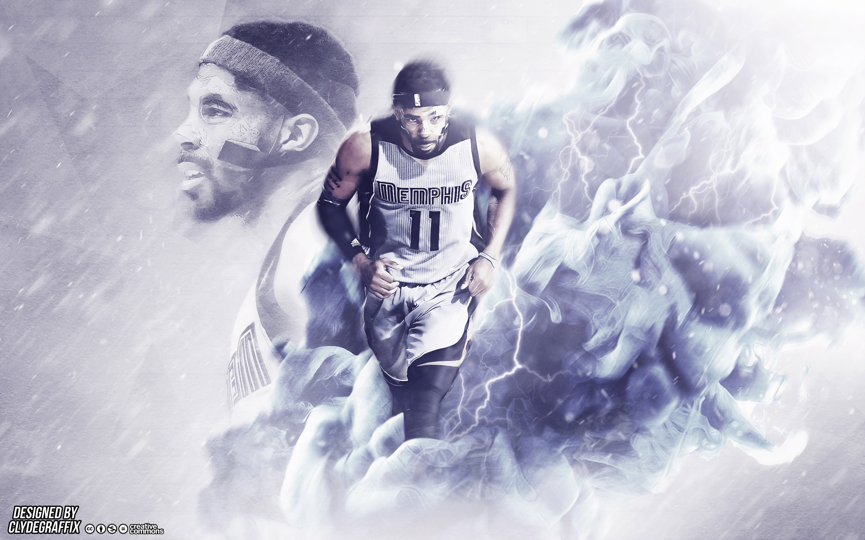 Mike Conley Wallpapers Basketball Wallpapers at BasketWallpaperscom 2880x1800