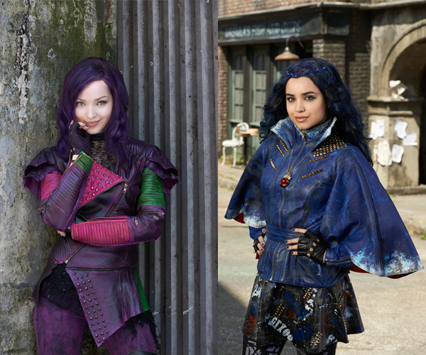 disney's descendants characters - 600×600