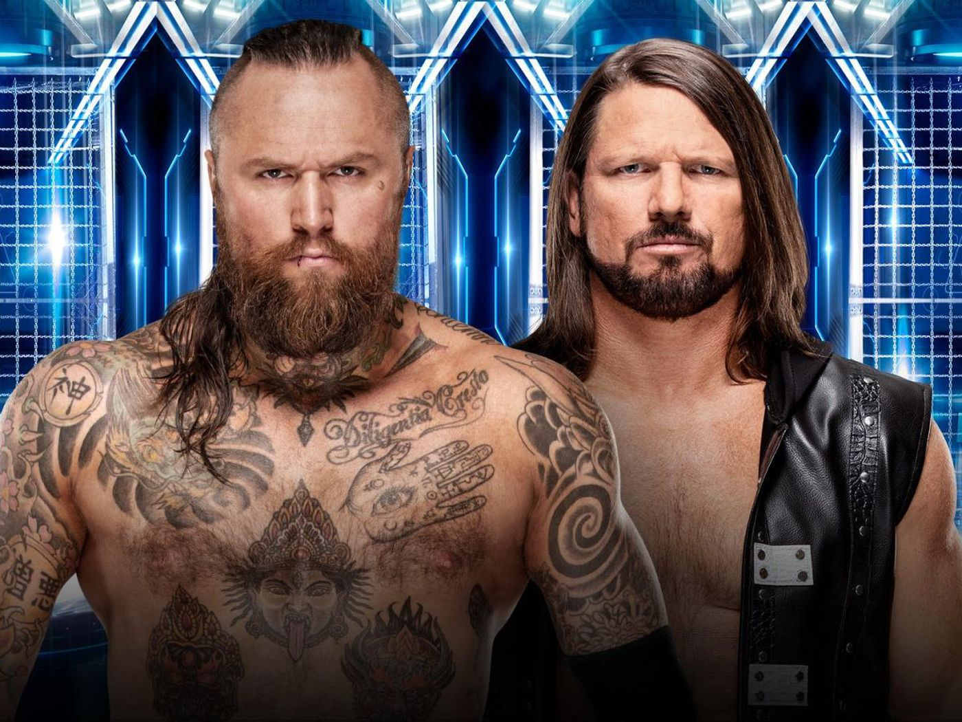 Three new matches official for Elimination Chamber   Cageside Seats 1400x1050