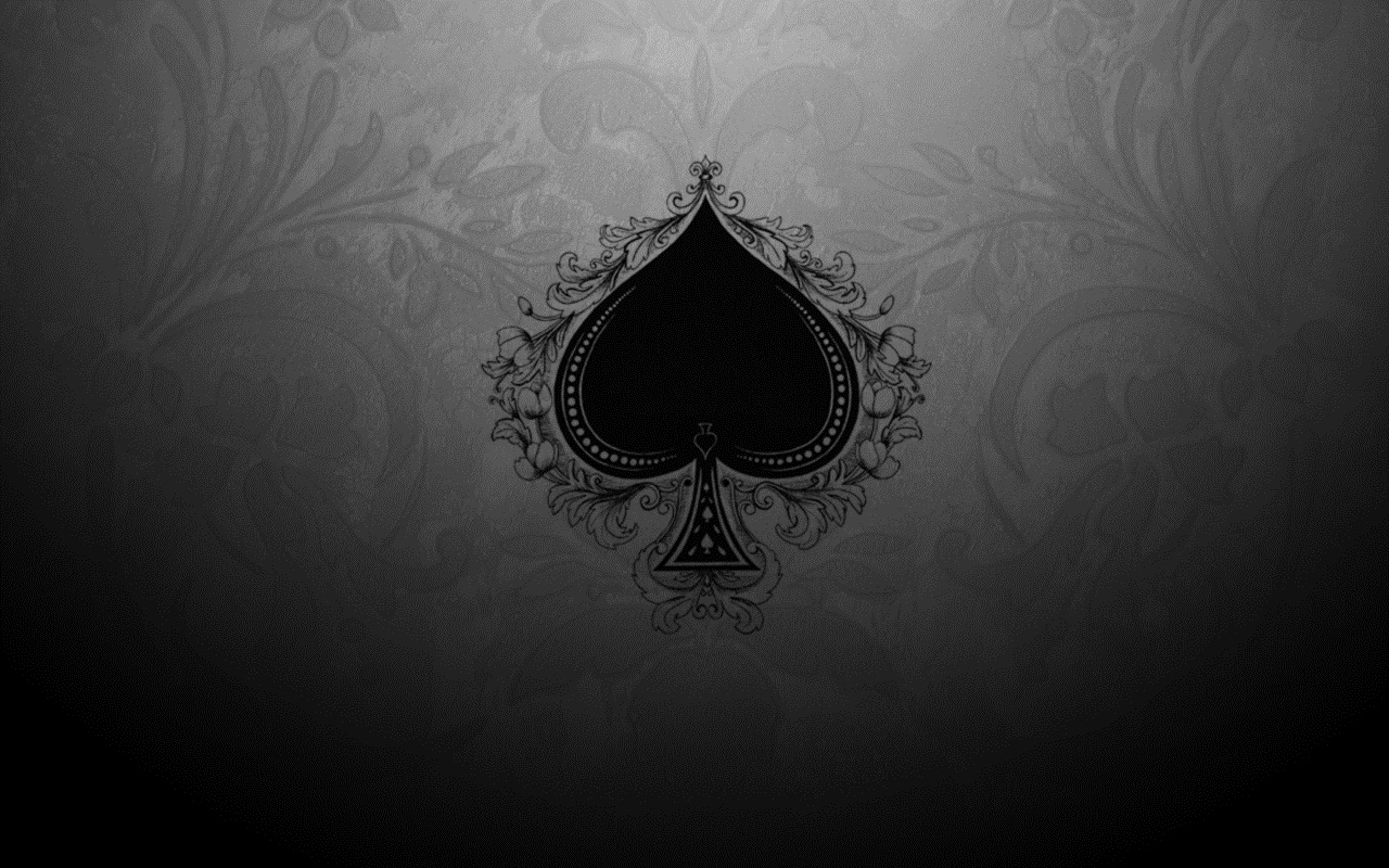 spade card background  6+] Ace of Spades Wallpaper HD on WallpaperSafari