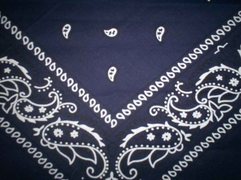 Blue Bandana Graphics Pictures Images for Myspace Layouts 1024x768