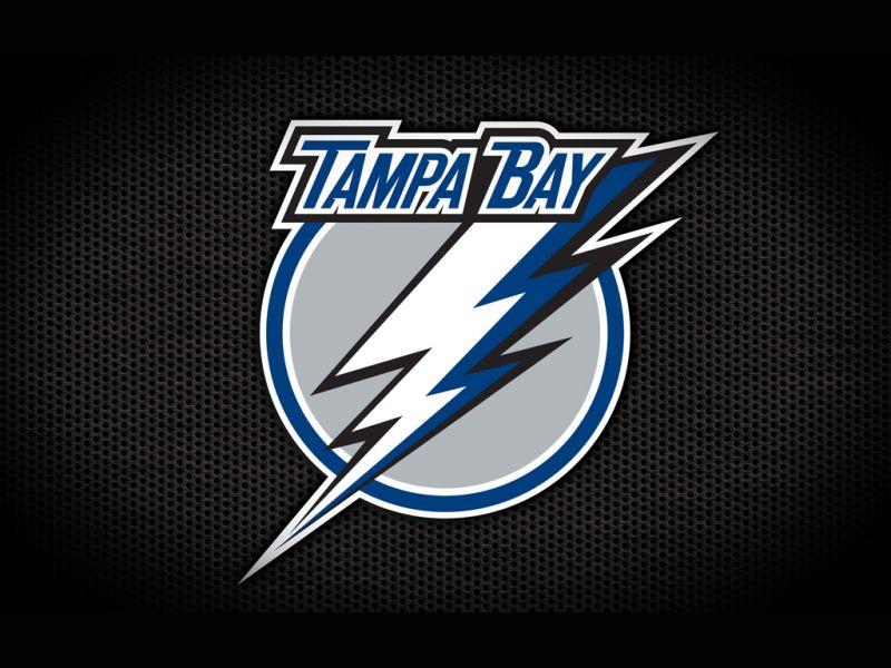Hockey Goalie Tampa Bay Lightning Logo Black Wallpaper HQ Backgrounds 800x600