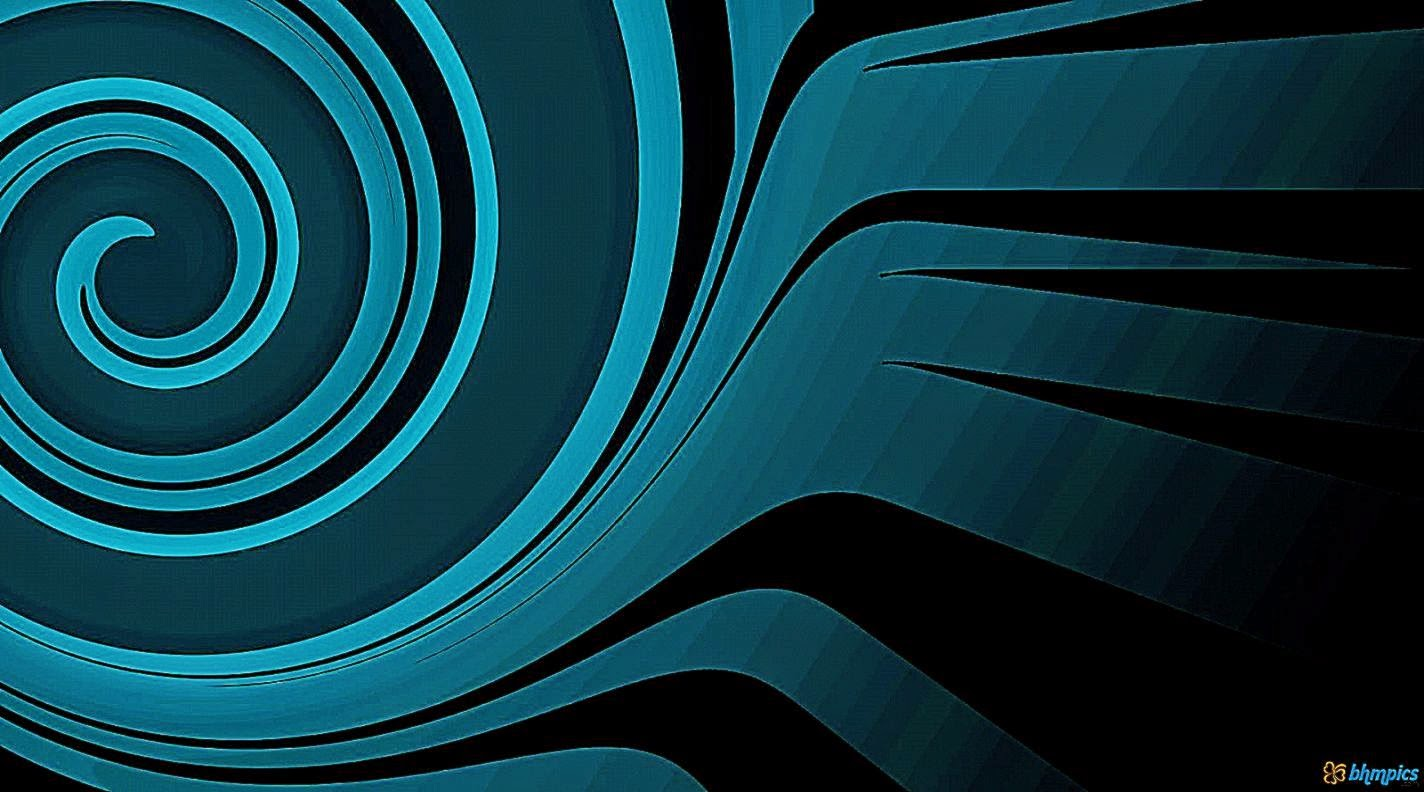 Free Download Black And Blue Wallpaper Abstract Black Blue
