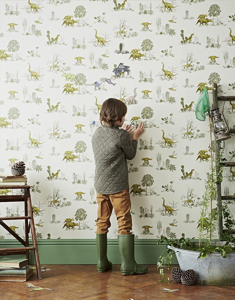 Dinosaur Wallpaper For Kids Room