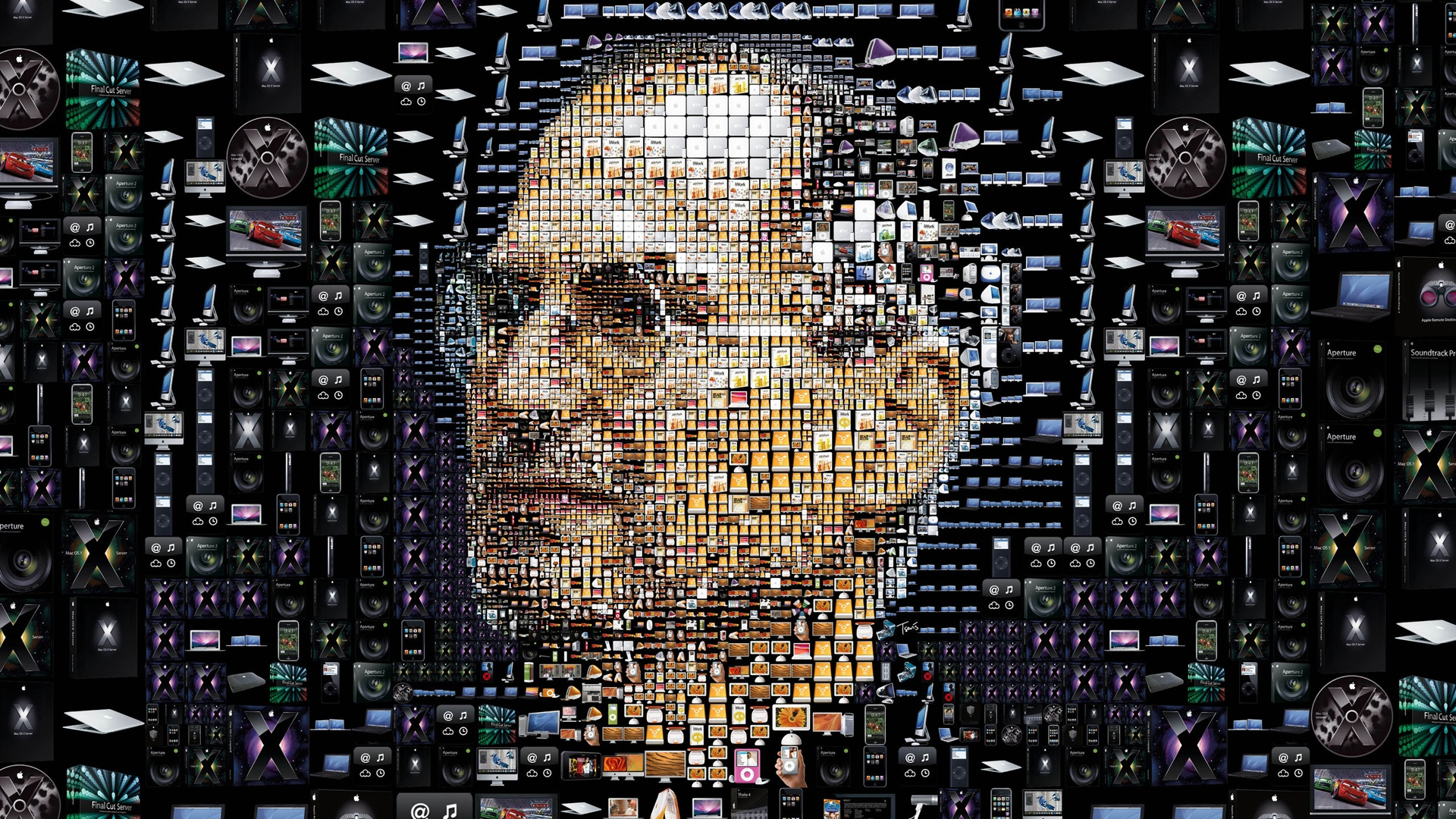 Top 5 Tribute To Steve Jobs Wallpapers 1920x1080