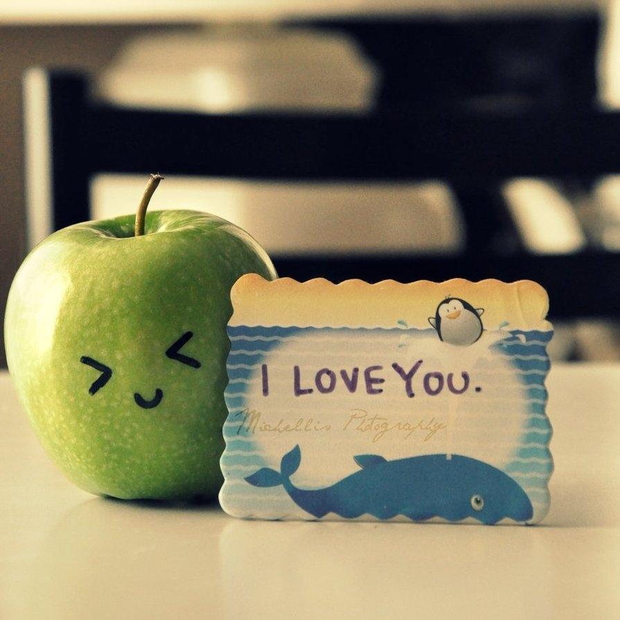apple cute i love you love sweet Favimcom 83148jpg 894x893