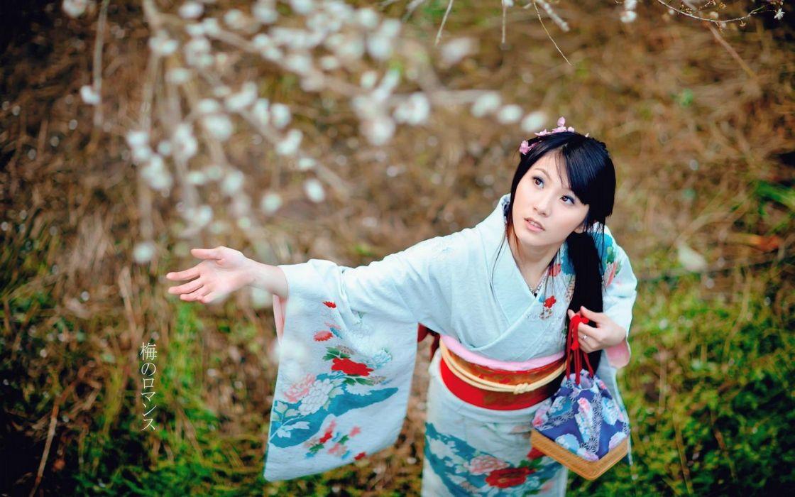 Women Japanese kimono Asians yukata wallpaper 1920x1200 275456 1120x700