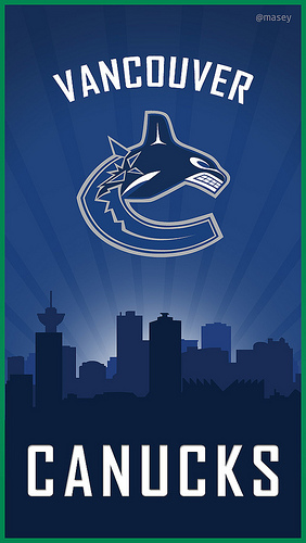 Vancouver Canucks Orca iPhone 5 Wallpaper Flickr   Photo Sharing 282x500