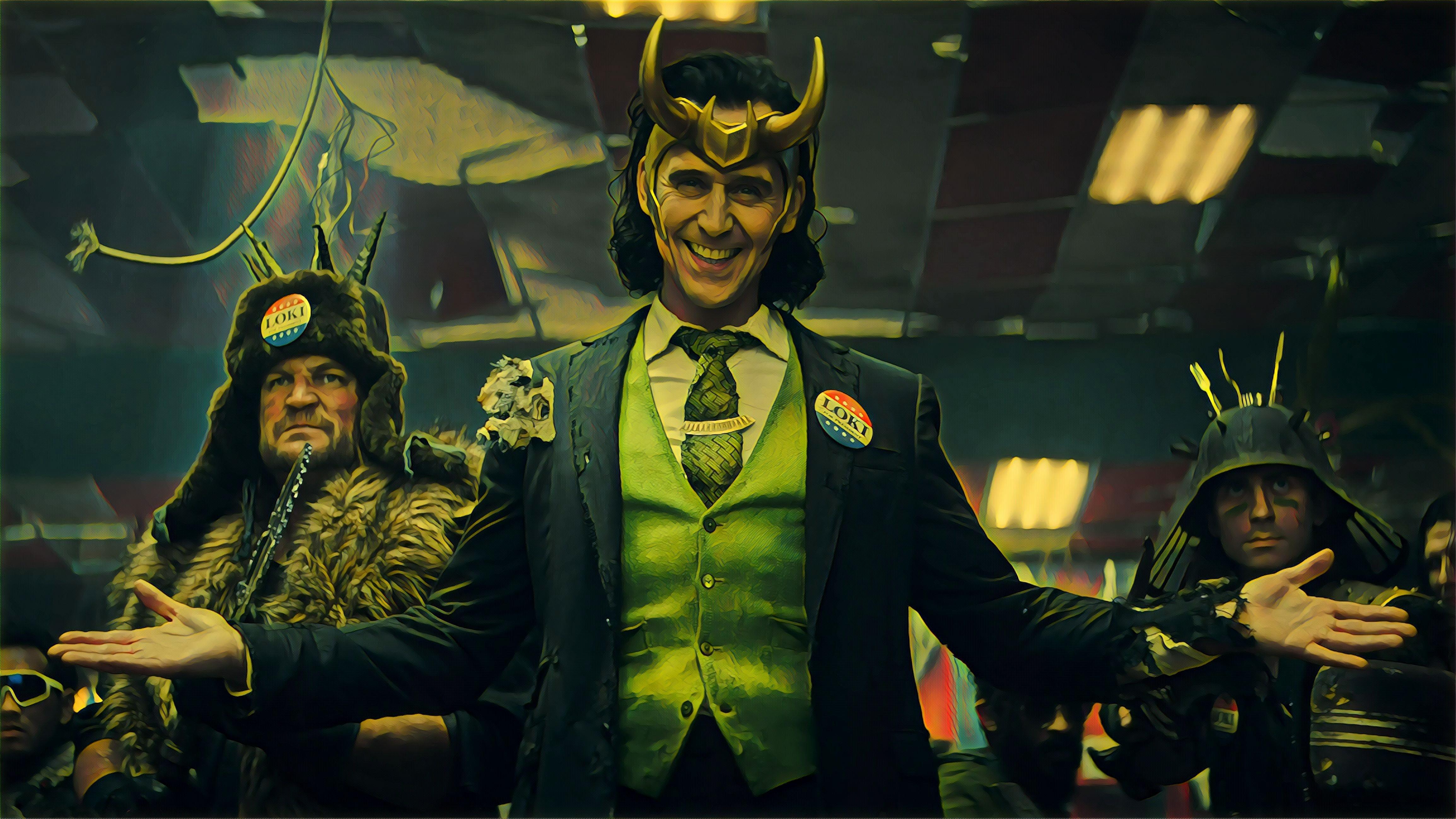 Updated New gallery of Loki 2021 UHD 4K screencaps Movie 4618x2598