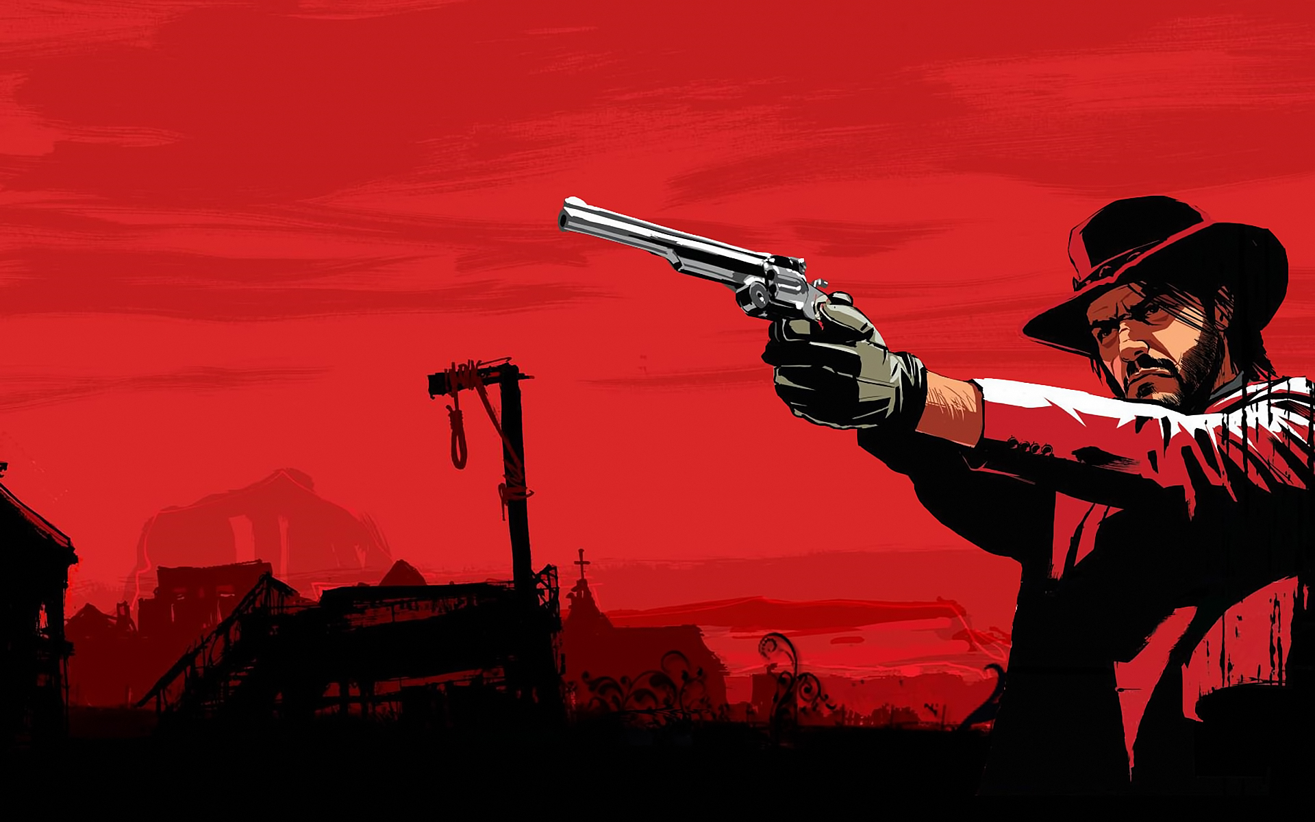 71 Red Dead Redemption Wallpaper On Wallpapersafari