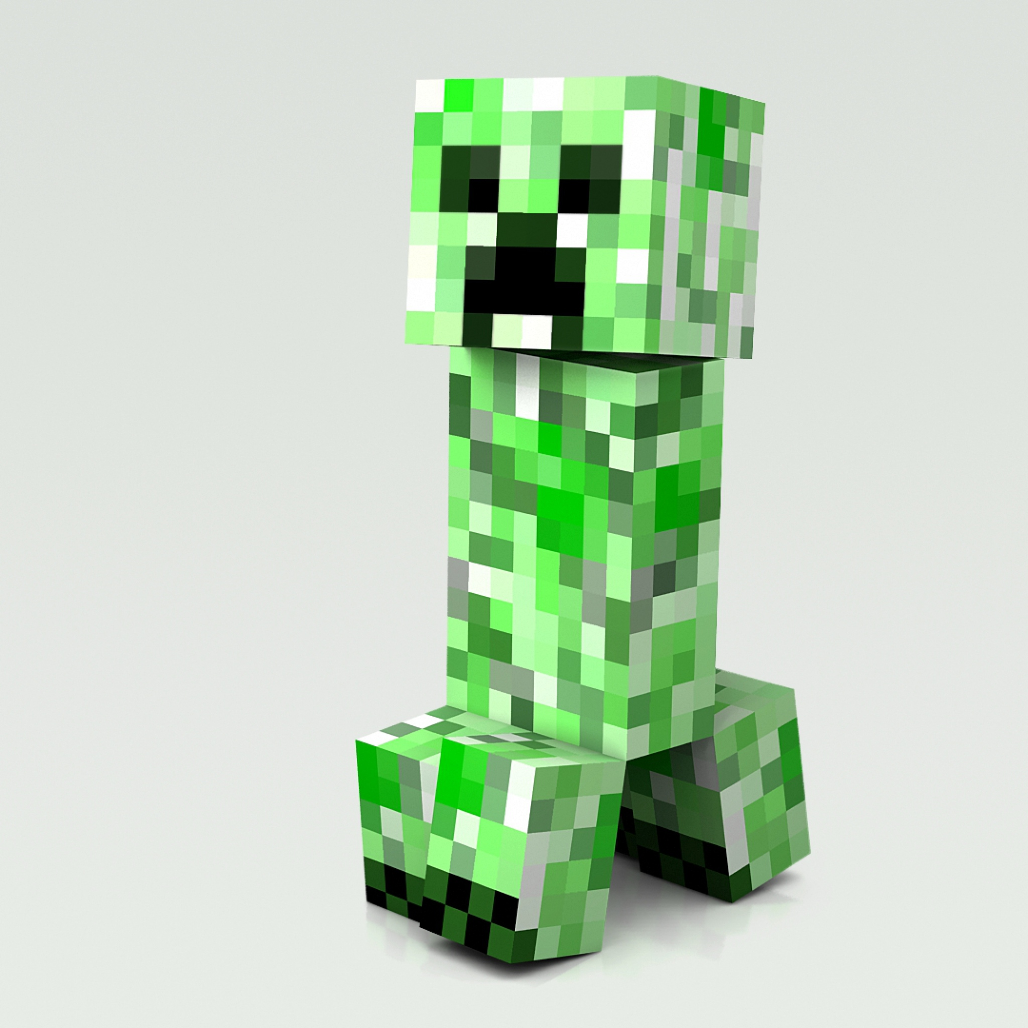 2048x2048 Minecraft Cubes People Man Wallpaper Background New iPad 2048x2048