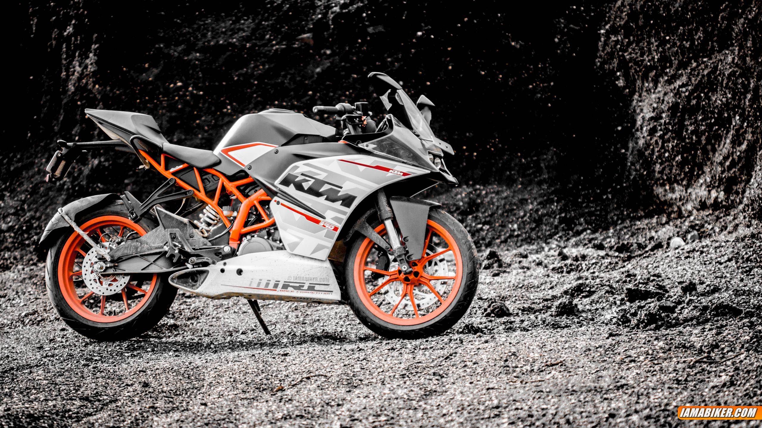 KTM RC 390 HD wallpapers 2560x1440