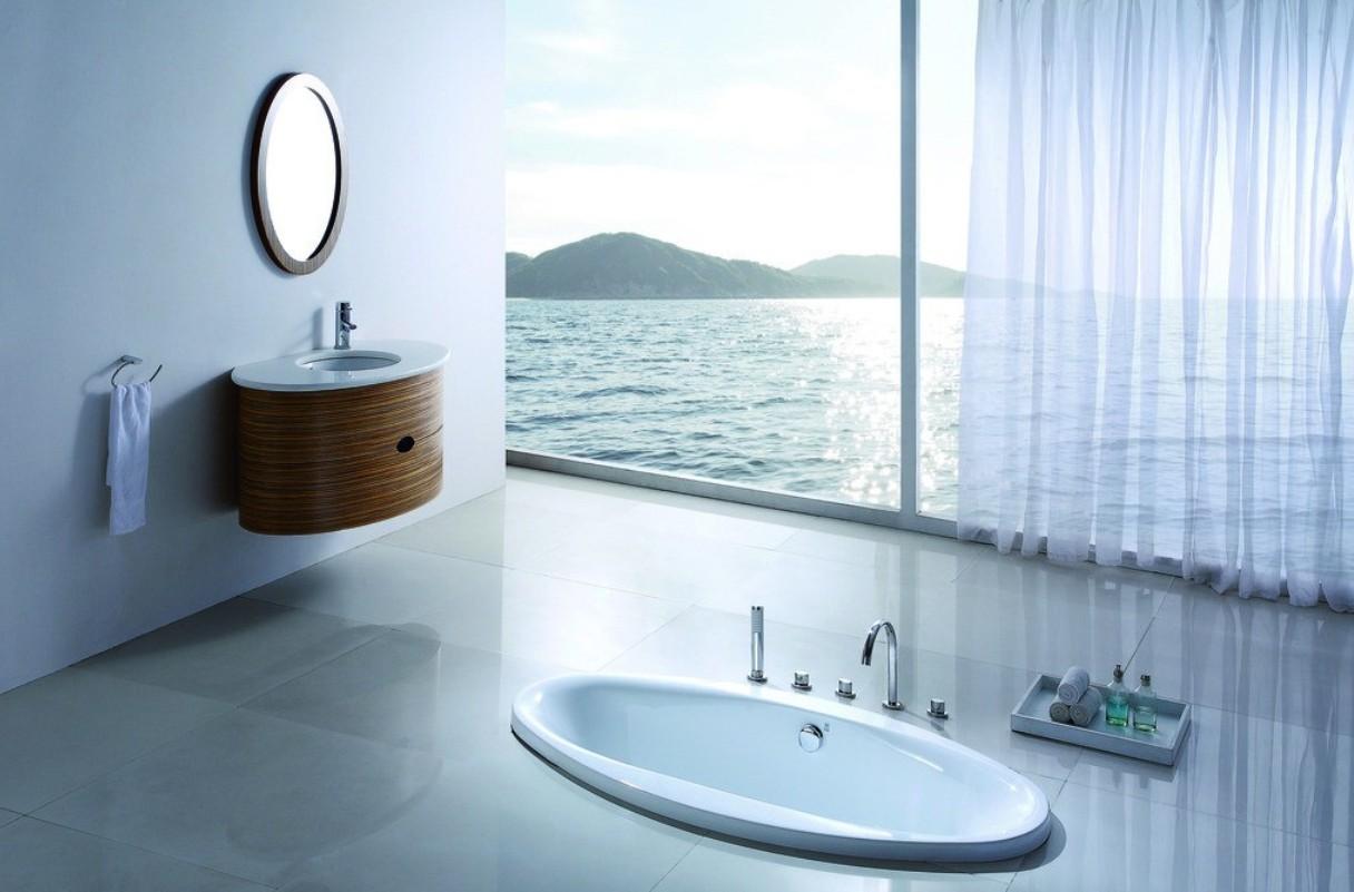 Minimalist bathroom for beach hotel 3D house 3D house pictures 1216x801