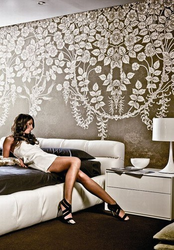 Contemporary Wallpapers Designer Wallpapers How to Wallpaper 349x500