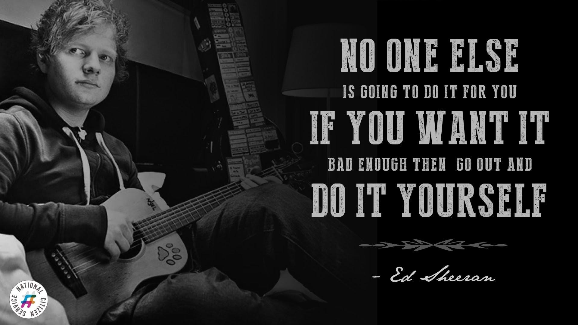 Ed Sheeran Lyrics Wall...