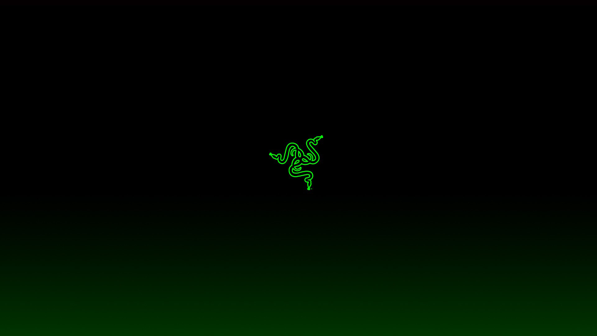 razer green logo hd wallpaper 1920x1080 1080p compatible for 1280x720 1920x1080