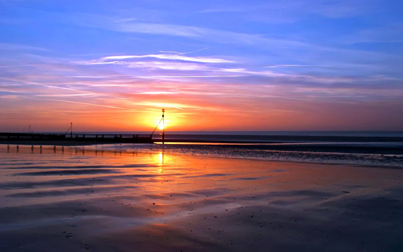 Sunset Beach Wallpapers   Wallpapers HD 1600x1000