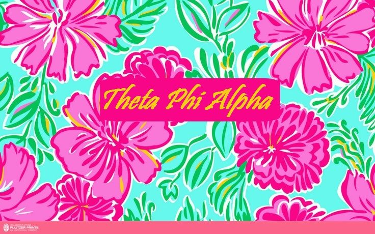 theta phi alpha I fricken love this print 736x460