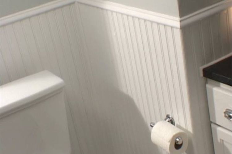 How To Install Beadboard Over Wallpaper Ehow Share The Knownledge 750x500