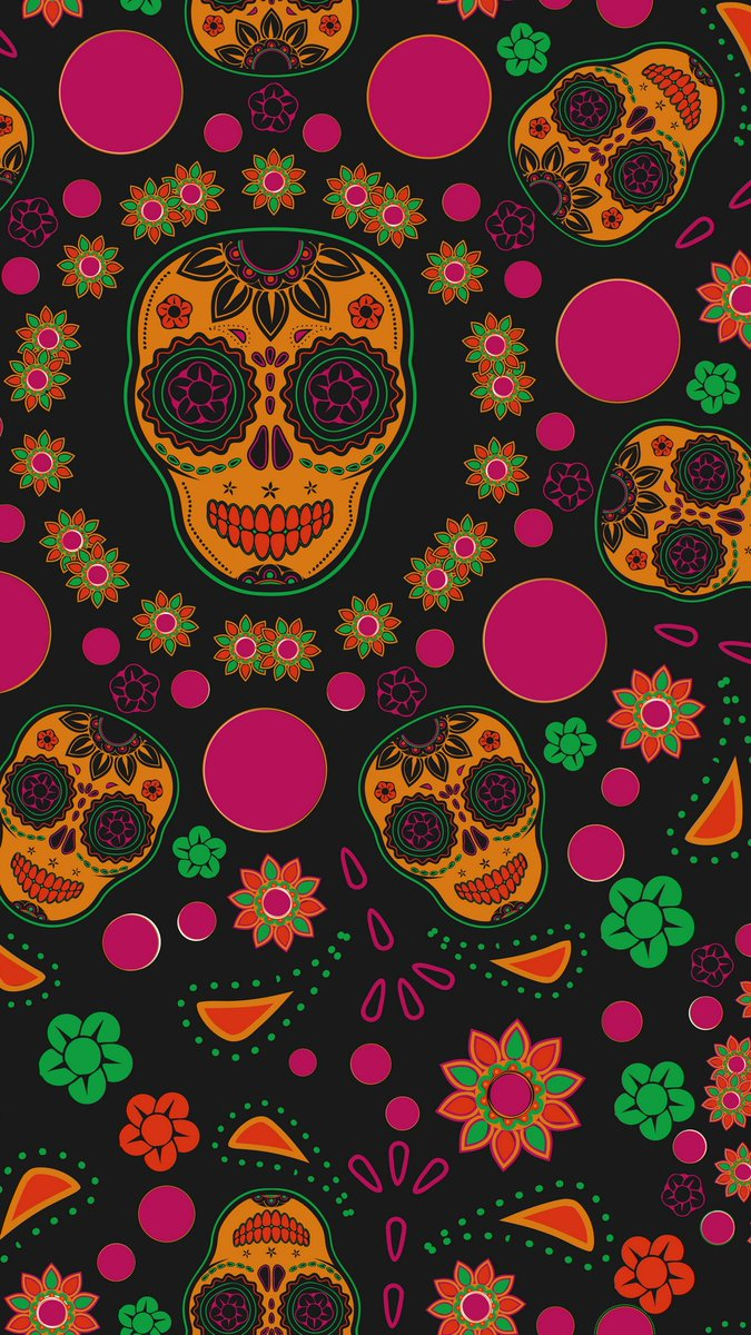 Free Download Hd Phone Wallpapers On Twitter Day Of The Dead Dia
