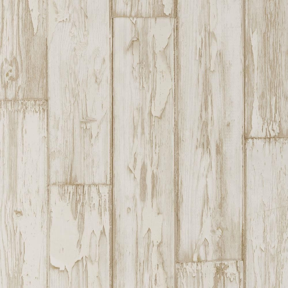 Distressed wood panel wallpaper wallpapersafari - Wood effect bathroom wallpaper ...