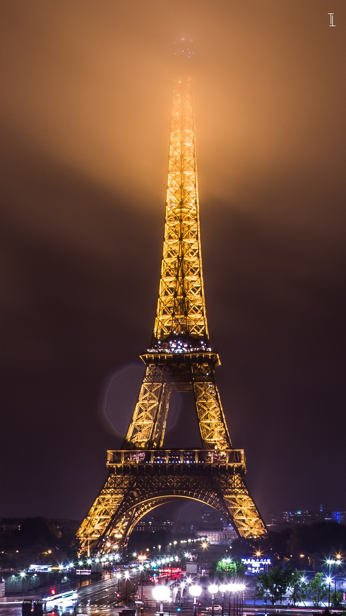 Download The Eiffel Tower 1152x2048 1152x2048