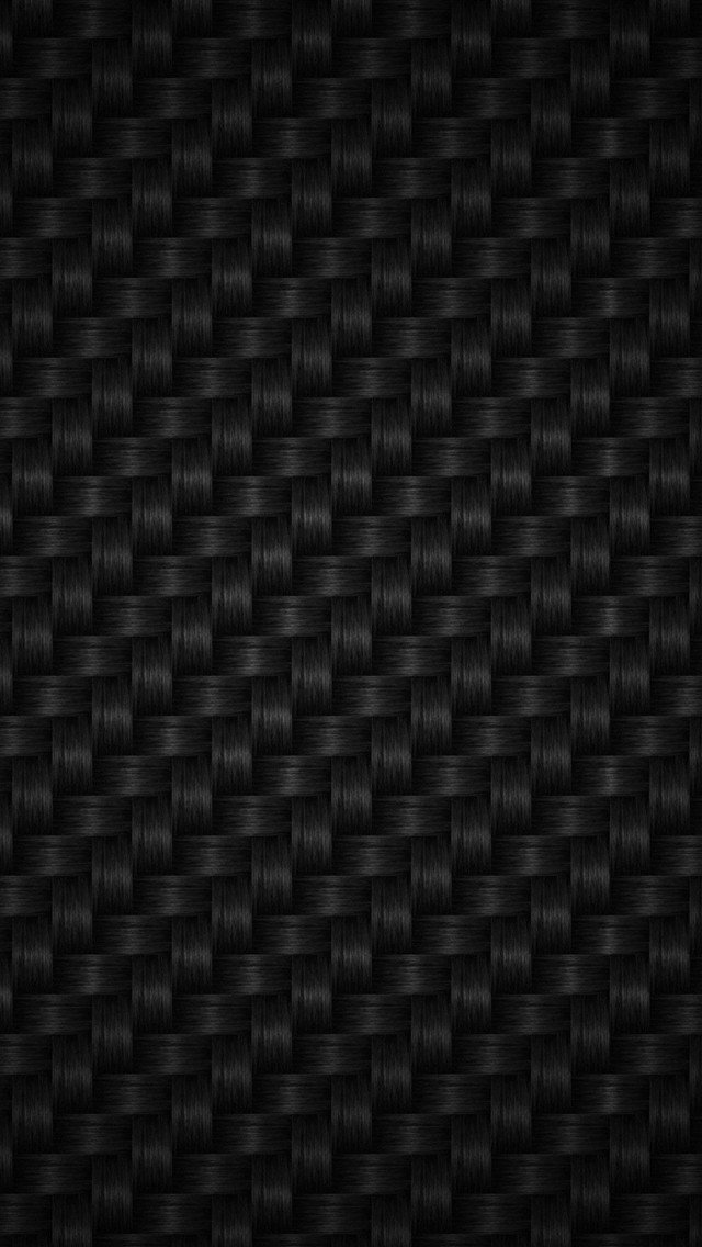 Carbon Fiber Wallpaper for iPhone 5 640x1136