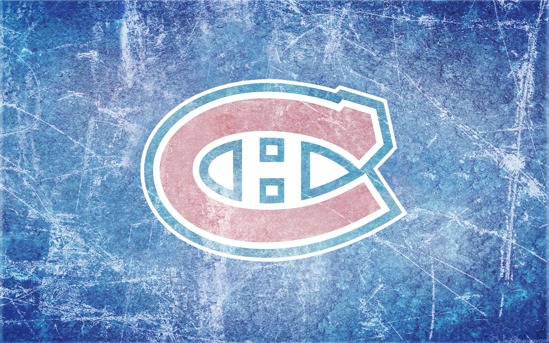 canadiens ice wallpaper by devinflack fan art wallpaper other i did 1920x1200