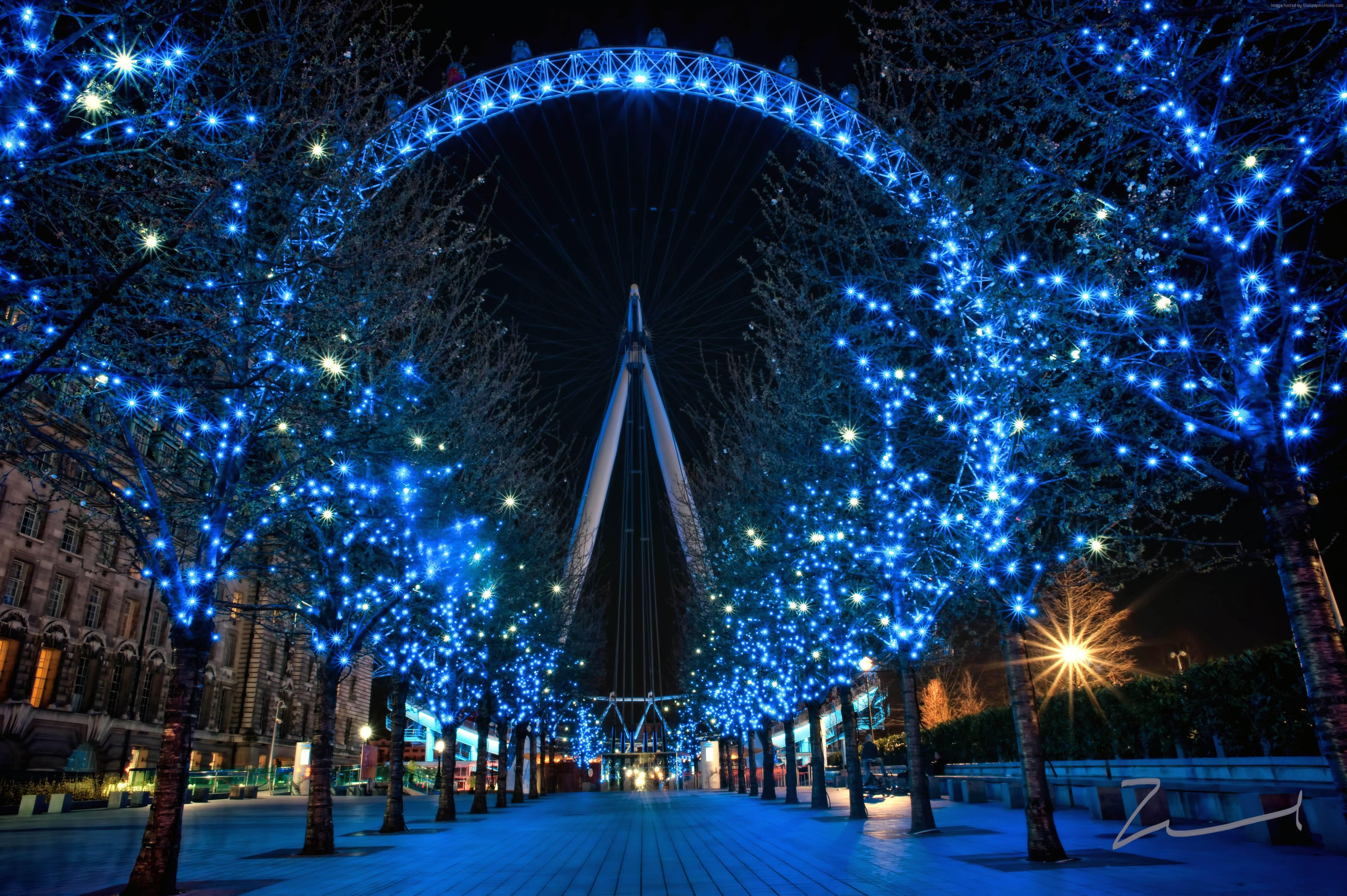 London Eye Wallpaper, Architecture / Modern: London Eye, England ...