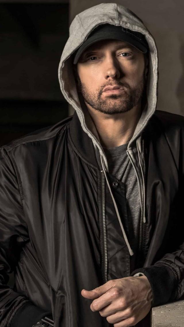 Wallpaper Eminem singer rapper actor 4K Celebrities 19936 640x1138