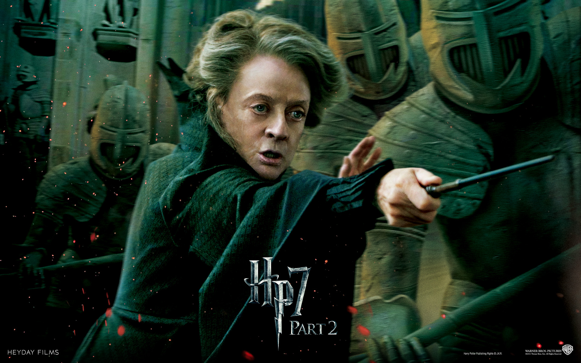 Professor McGonagall   The Girls of Harry Potter Wallpaper 1920x1200