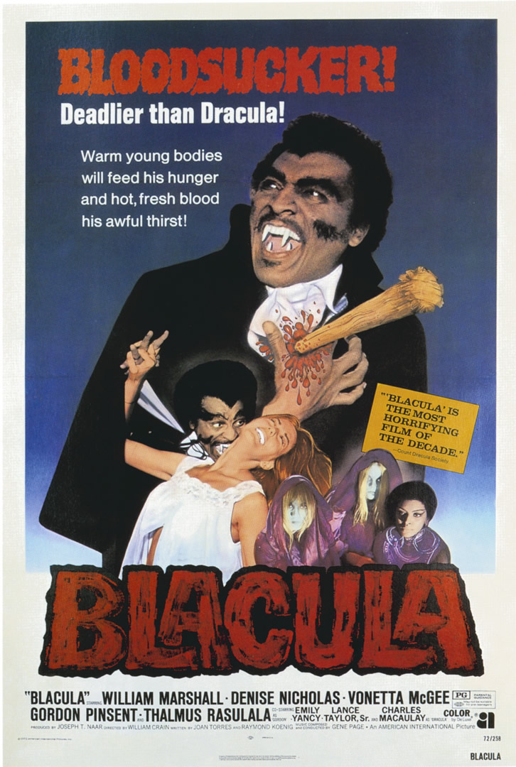 Blacula   Blaxploitation B Movie Posters 726x1080