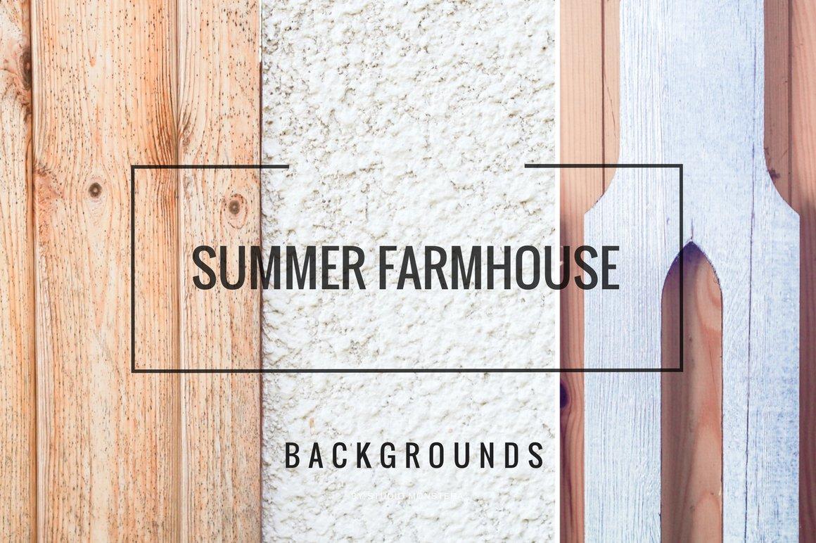 FARMHOUSE BACKGROUNDS Textures Creative Market 1160x772