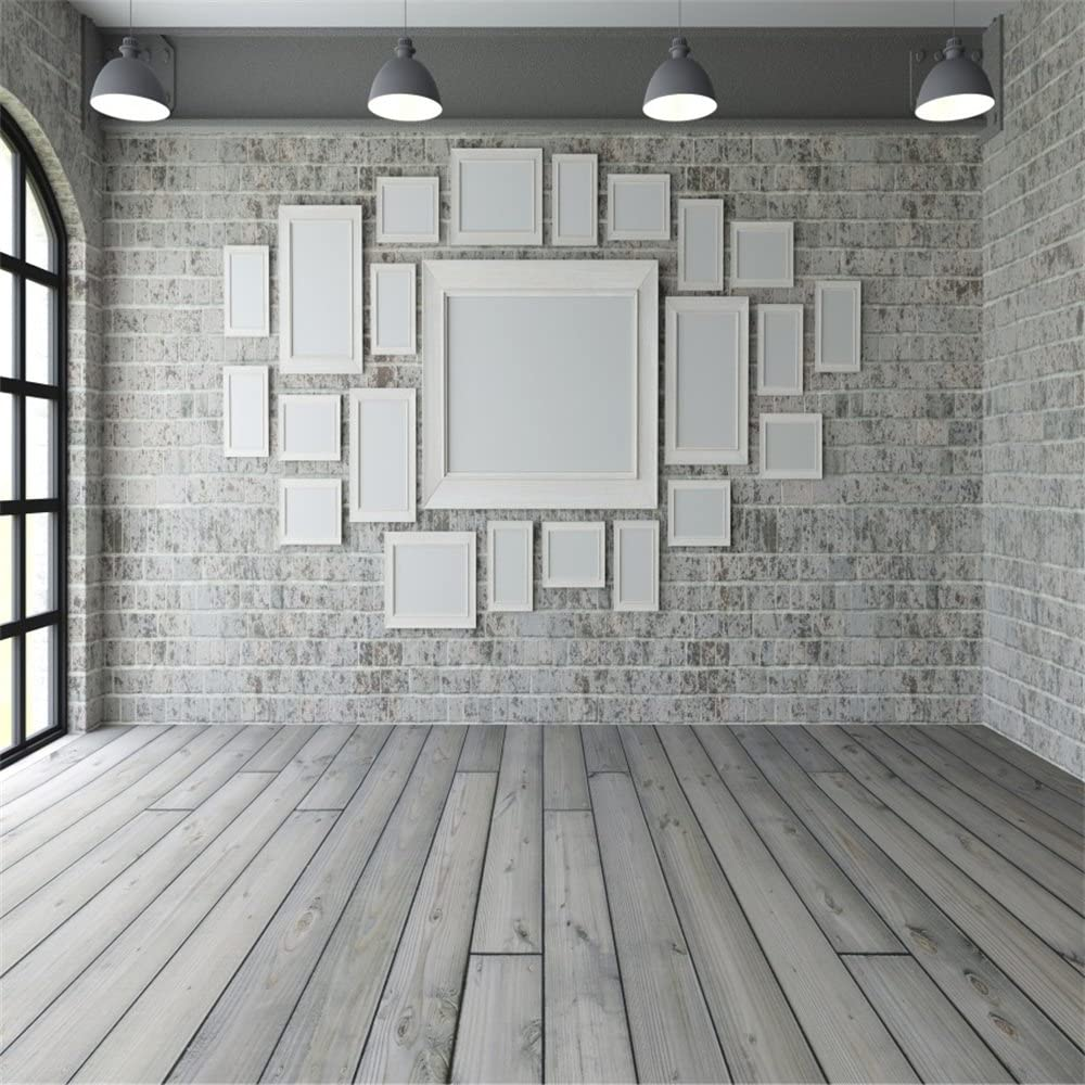 Amazoncom LFEEY 5x5ft Empty Room Picture Frames Wall Backdrop 1000x1000