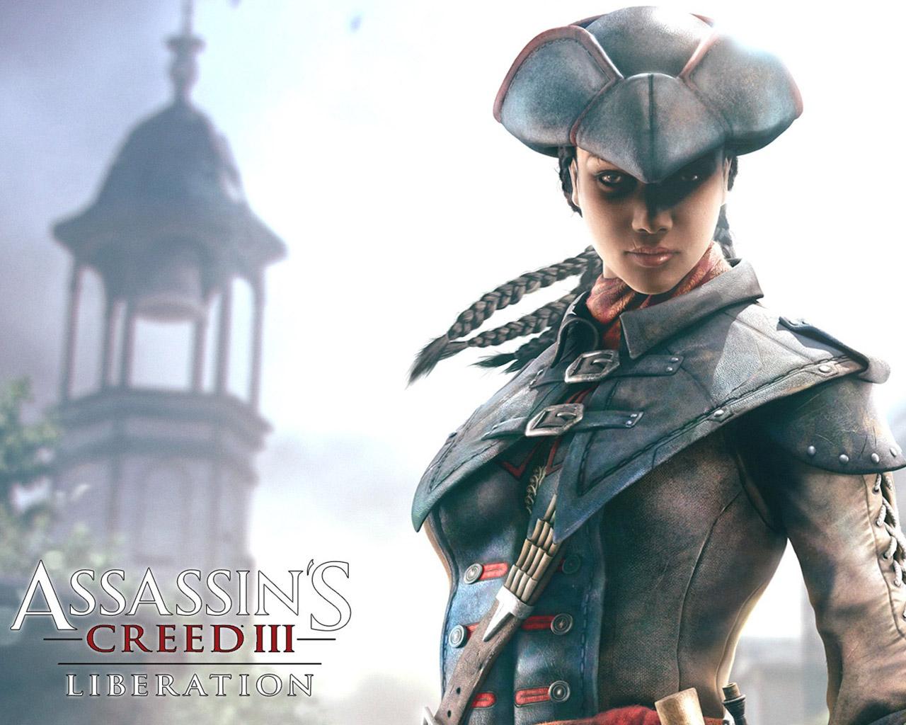 Assassins Creed III Liberation Wallpaper in 1280x1024 1280x1024