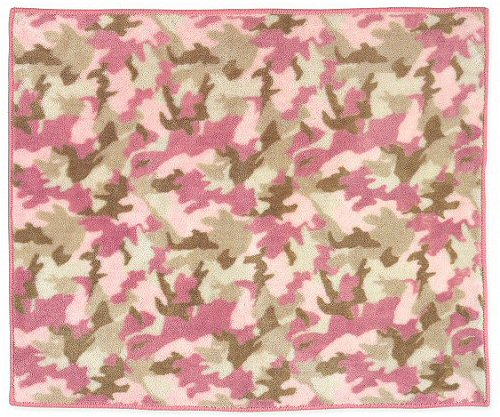 Pink Camouflage Rug   Kids Soft Accent Floor Area or Bath Rug 500x417