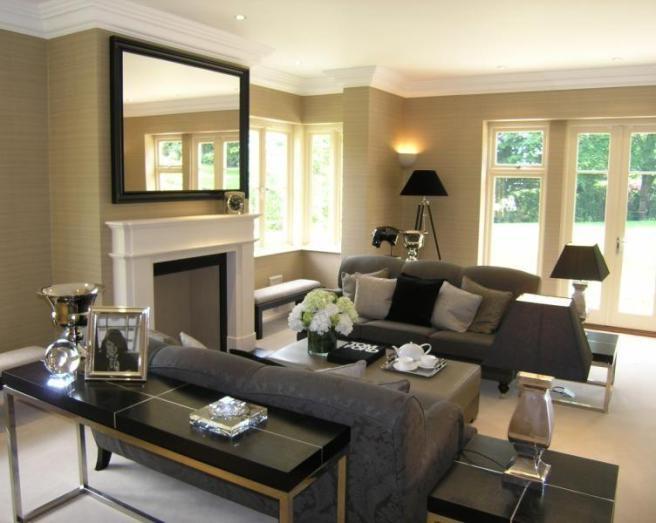 Wallpaper Living Room Design Ideas Photos Inspiration Rightmove 656x523
