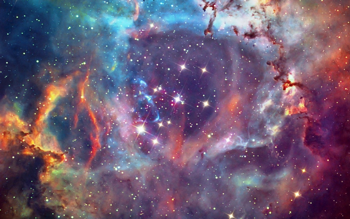 3d Galaxy Wallpaper With Quotes QuotesGram 1440x900