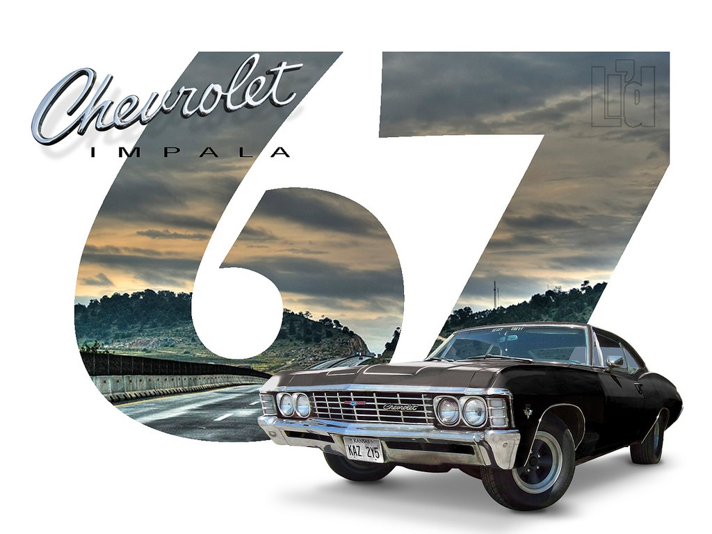 Home Chevrolet Impala 1967 Wallpaper 67 Chevy Supernatural 1024x768