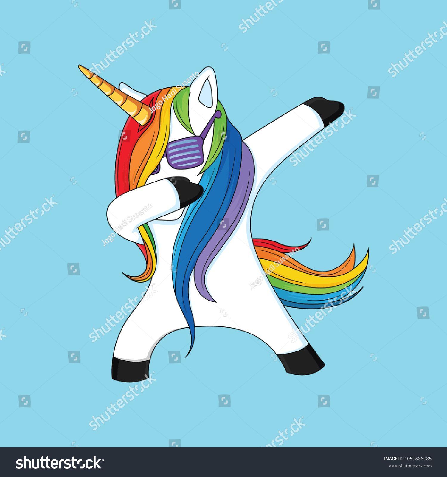 dabbing unicorn with blue backgroundunicorndabbingbackground 1500x1600