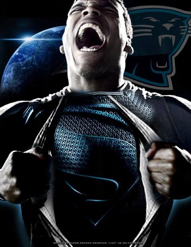 Superman Superman Cam Newton Pinterest 612x792