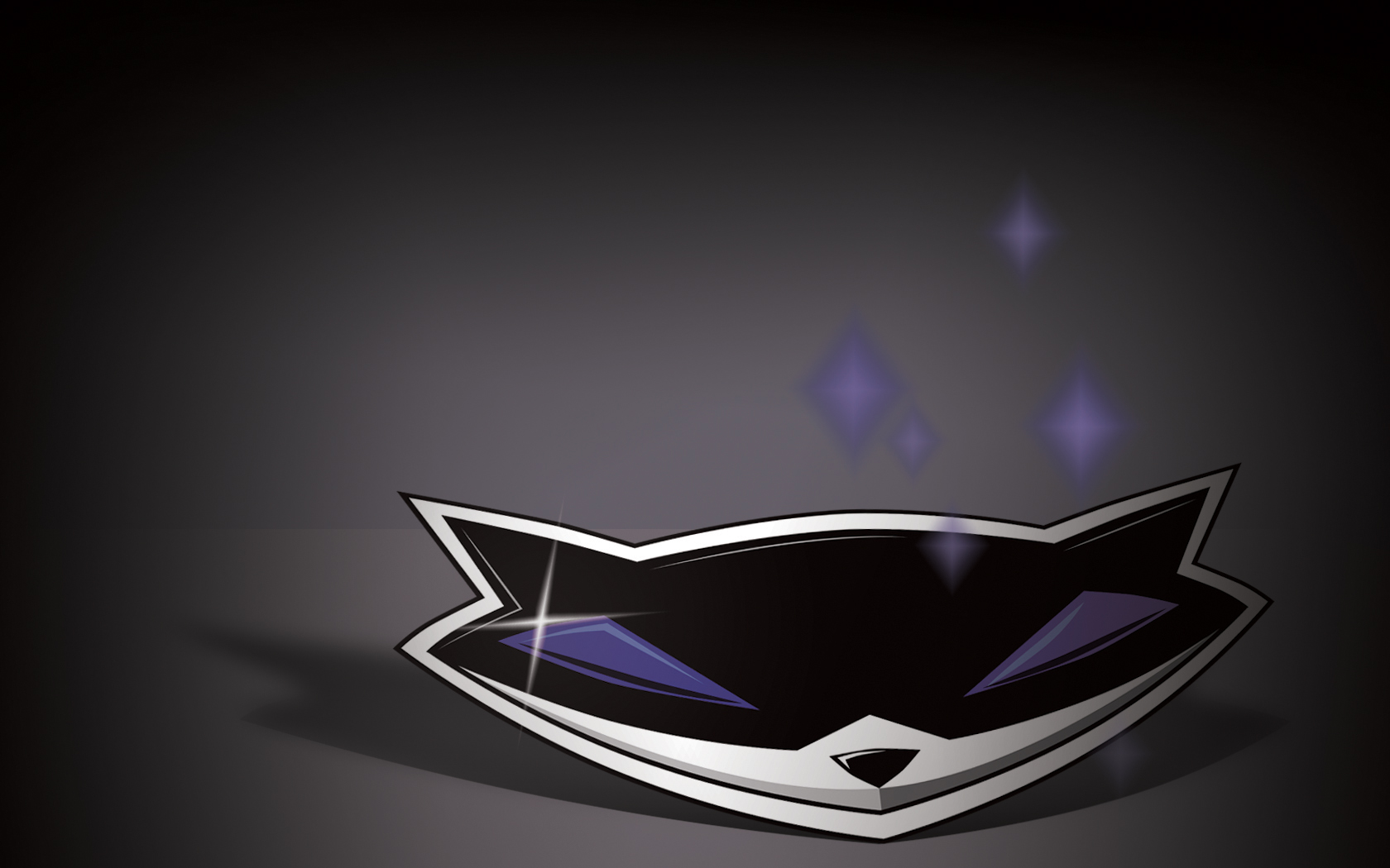 Sly Cooper logo background by MorganJNail 1680x1050