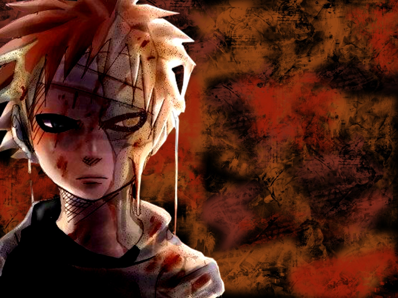 Naruto And Bleach Anime Wallpapers Managa Style Gaara 1280x960