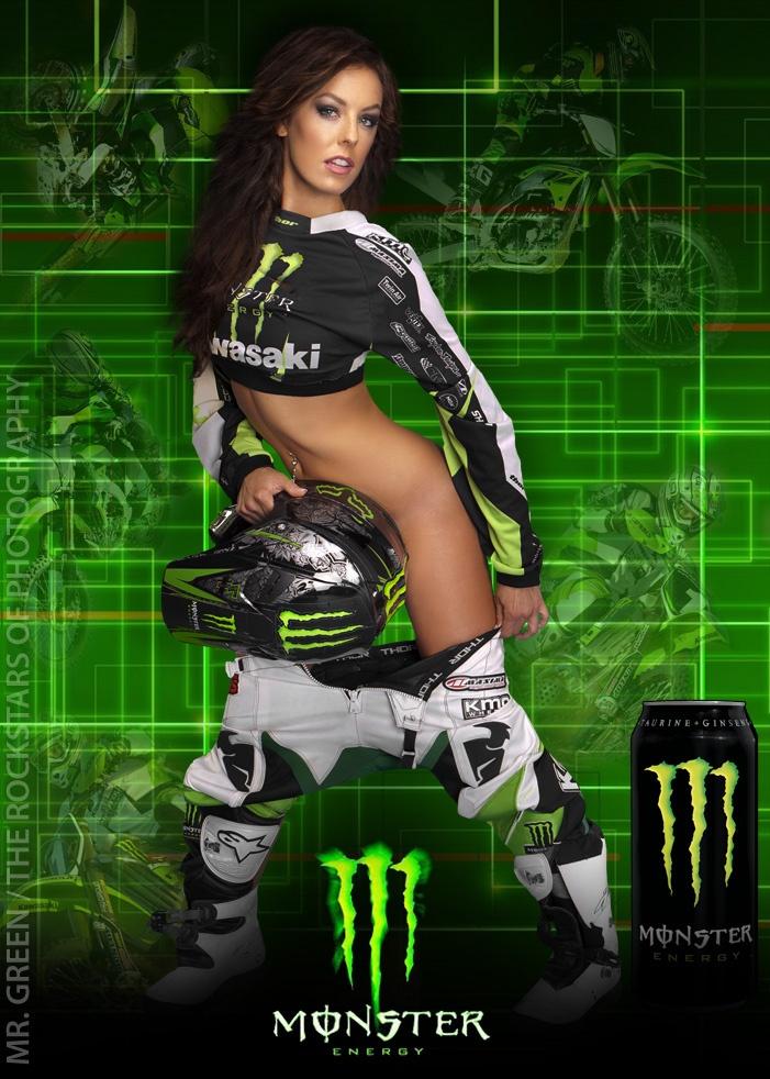 Monster energy supercross models