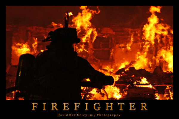 Volunteer Firefighter Wallpaper Firefighter by drketchum 600x400